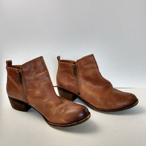 Leather Heeled Boots - Lucky Brand - Size 8M - NWT